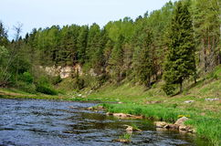 Río de Derzha pueda Fotos de archivo