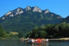 Río de Dunajec Imagen de archivo libre de regalías