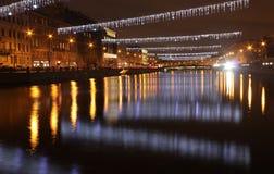 Río de Fontanka, St Petersburg, Rusia Fotos de archivo