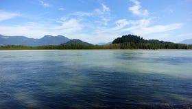 Río de Fraser Fotografía de archivo