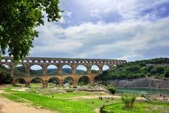 Río de Gard Imágenes de archivo libres de regalías
