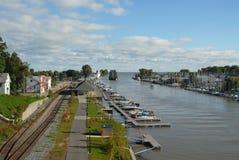 Río de Genesee Fotografía de archivo