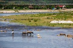 Río de Giăng Fotografía de archivo libre de regalías