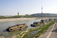 Río de Han Fotografía de archivo