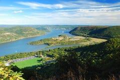 Río de Hudson imagen de archivo libre de regalías