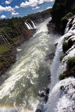 Río de Iguassu Fotos de archivo libres de regalías