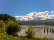 Río de Irkut Foto de archivo libre de regalías