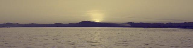 Río de Irrawaddy Foto de archivo