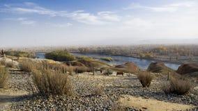 Río de Irtysh Fotos de archivo