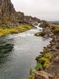 Río de Islandia Fotografía de archivo libre de regalías
