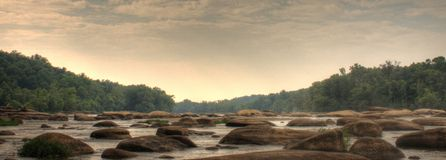 Río de James fotografía de archivo