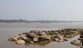 Río de Kong en Tailandia Fotos de archivo