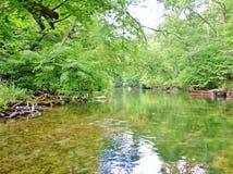 Río 19 de Krutynia Fotos de archivo libres de regalías