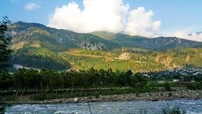 Río de Kunhar Fotografía de archivo