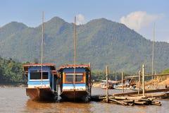 Río de la explosión de Luang Phra Fotografía de archivo libre de regalías