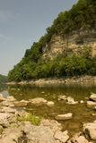 Río de la fork de Caney Foto de archivo libre de regalías