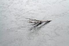 Río de la inundación Fotografía de archivo