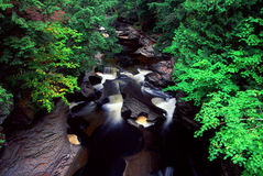 Río de la isla de Presque - Michigan Fotografía de archivo libre de regalías