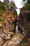 Río de la montaña. Fotografía de archivo libre de regalías