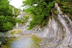 Río de la montaña. Imágenes de archivo libres de regalías