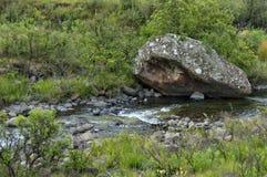 Río de la montaña en el castillo de Giants foto de archivo libre de regalías