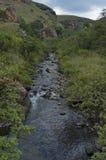 Río de la montaña en el castillo de Giants Fotos de archivo libres de regalías