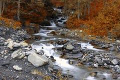 Río de la montaña, Francia, Europa Imagen de archivo libre de regalías