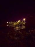 Río de la noche en un país fotos de archivo libres de regalías