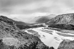 Río de las vueltas Fotografía de archivo libre de regalías