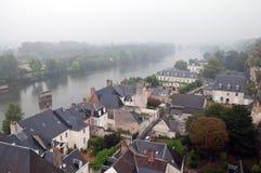 Río de Loire en Francia fotografía de archivo libre de regalías