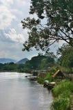 Río de Mae Kok, Thaila norteño Fotografía de archivo