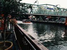 Río de Malaca foto de archivo libre de regalías