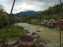 Río de Mamasa imagen de archivo libre de regalías