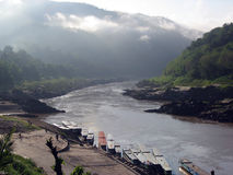 Río de Mekong Imagenes de archivo