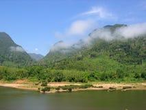 Río de Mekong, Laos Fotografía de archivo