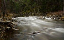 Río de Merced en Yosemite Fotos de archivo libres de regalías