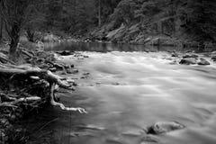 Río de Merced en Yosemite Fotografía de archivo