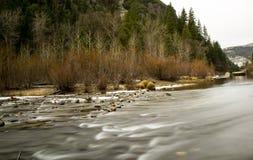 Río de Merced en Yosemite Imagen de archivo libre de regalías