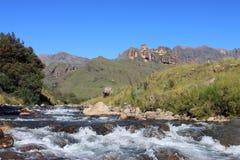 Río de Mlambonja imagenes de archivo