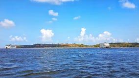 Río de Mondovi Foto de archivo libre de regalías