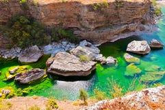 Río de Moraca Imagen de archivo