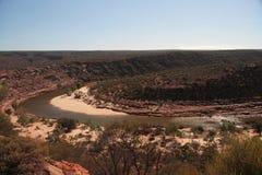 Río de Murchison - Australia Imágenes de archivo libres de regalías