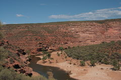 Río de Murchison - Australia Fotografía de archivo