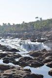 Río de Narmada imagenes de archivo