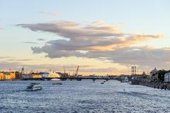 Río de Neva Imagen de archivo