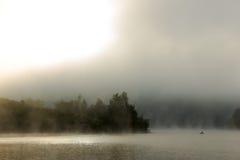 Río de niebla imagen de archivo libre de regalías