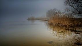 Río de niebla Fotos de archivo libres de regalías