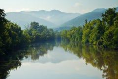 Río de Nolichucky imagen de archivo