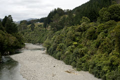 Río de Nueva Zelandia Imagenes de archivo