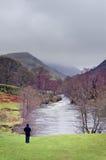 Río de Ogwen Imagen de archivo libre de regalías